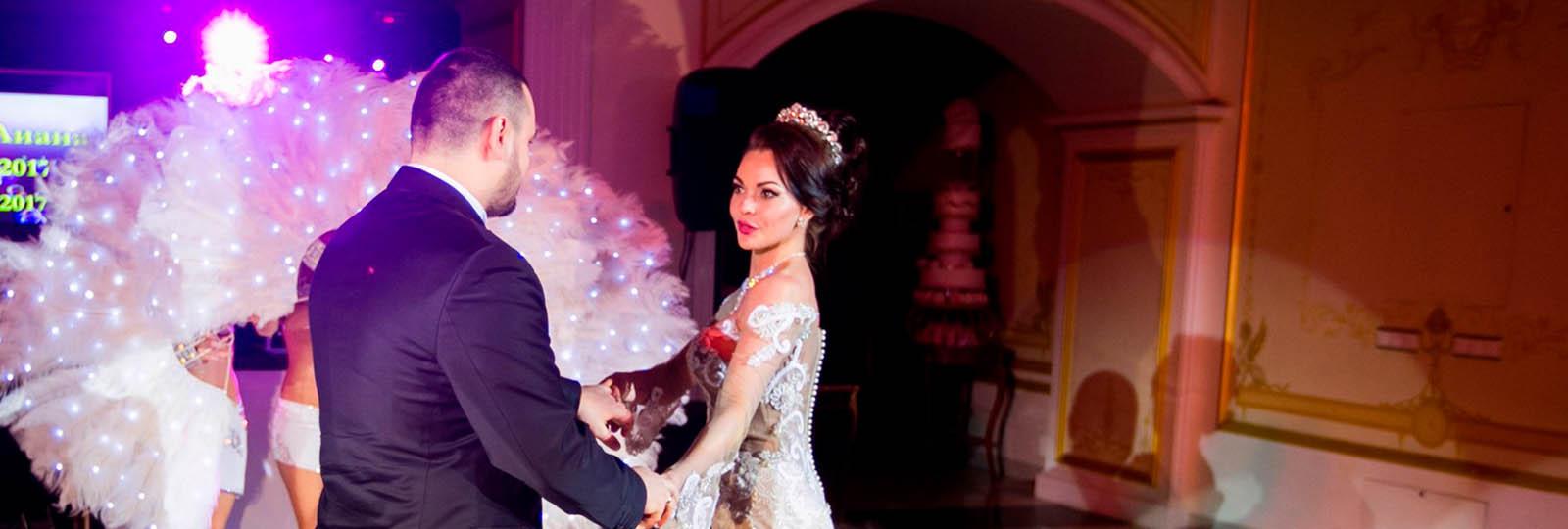 Сопровождение свадебного танца | Шоу-балет Exotic Art в Санкт-Петербурге