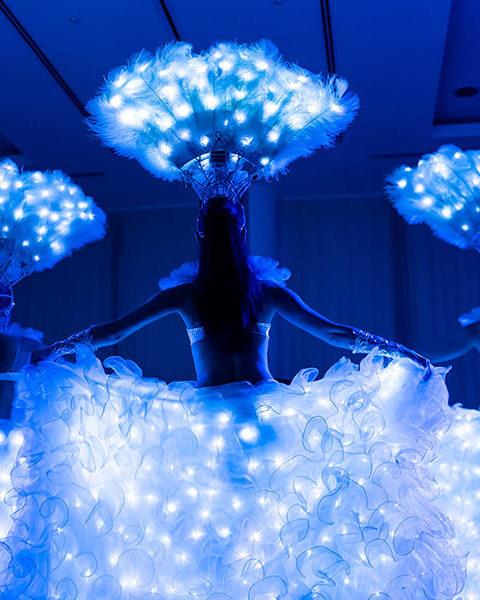 Световое шоу на корпоратив | Exotic Art