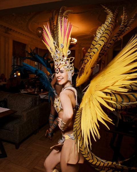 Бразильское шоу на праздник | Exotic Art