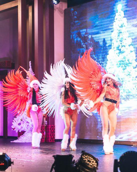 Новогоднее шоу на корпоратив | Exotic Art