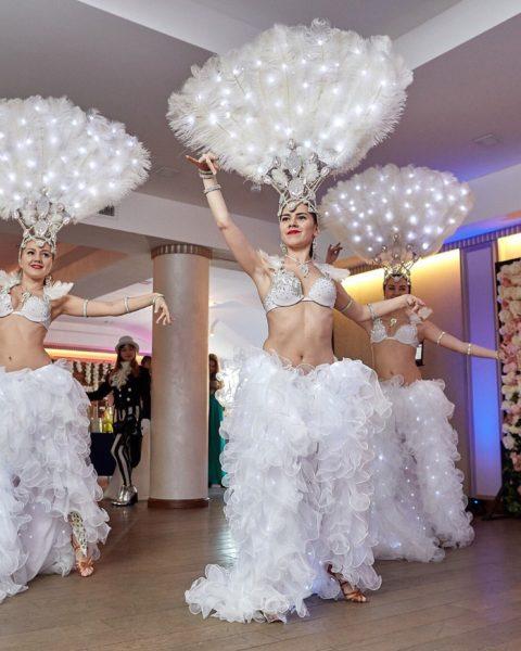 Перьевое шоу в спб | шоу-балет спб Exotic Art